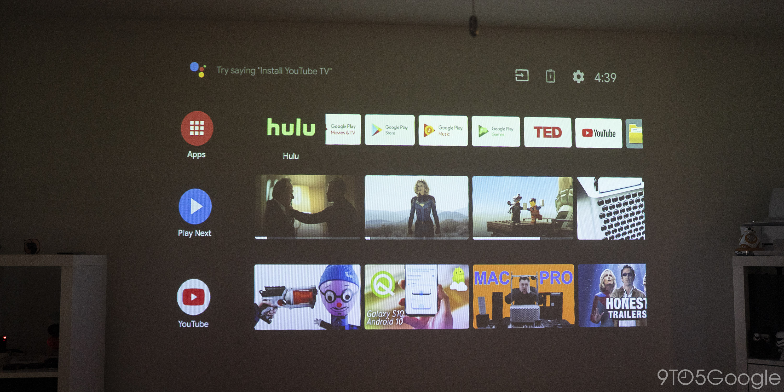xgimi mogo pro android tv projector