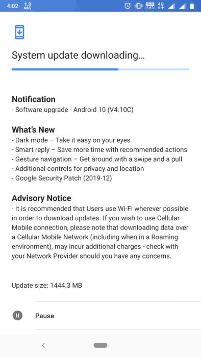 Nokia 6.1 Android 10
