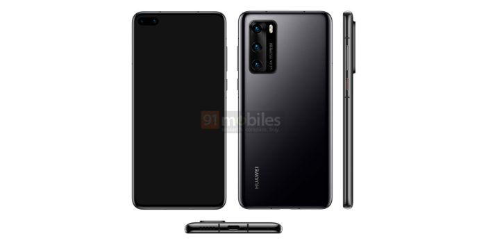 Huawei P40 press images