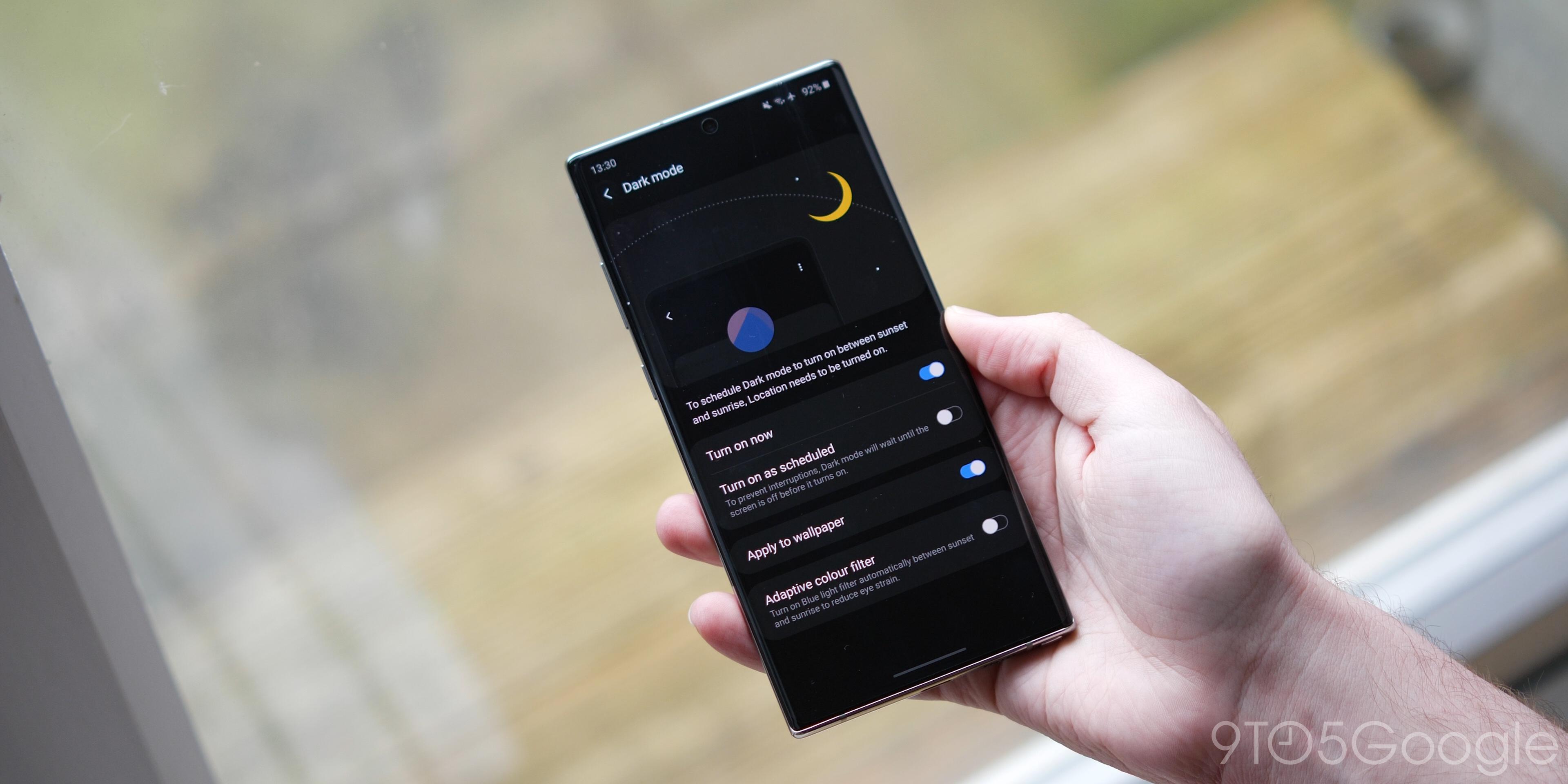 one ui 2.0 features - dark mode