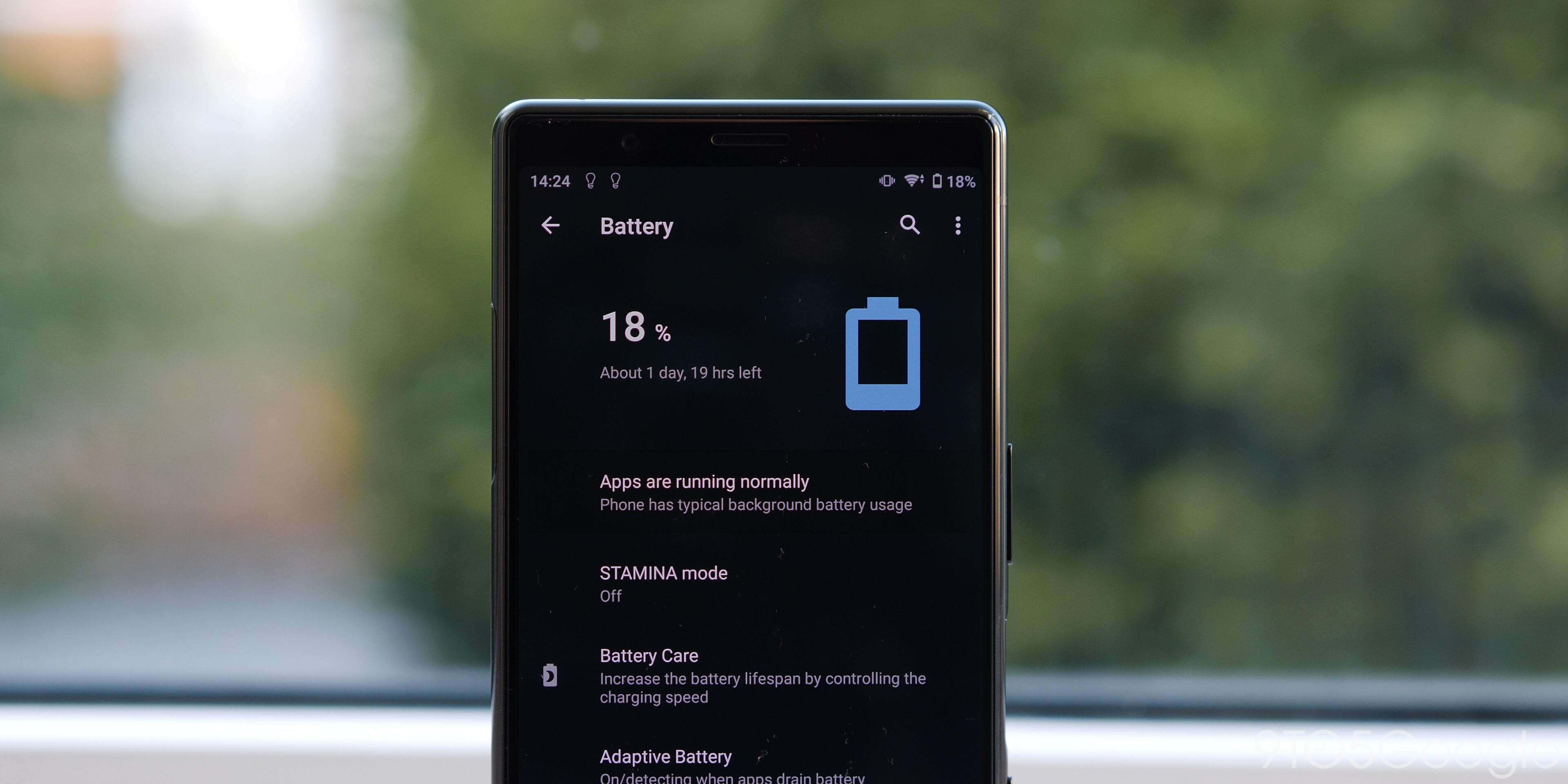 Sony Xperia 5 - Battery