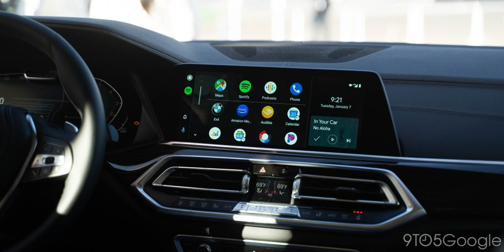 google android auto bmw