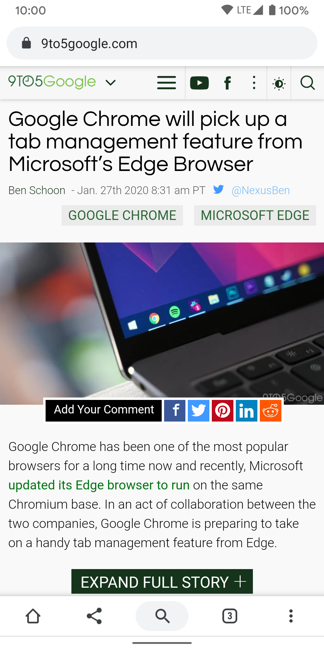 Google Chrome for Android simplifies 'Duet' redesign - 9to5Google