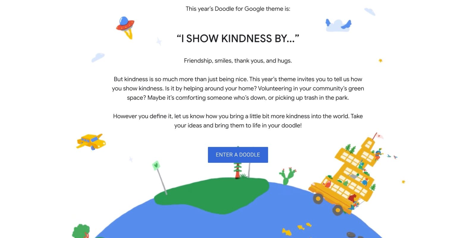 doodle for google 2020 now open i show kindness by 9to5google doodle for google 2020 now open i