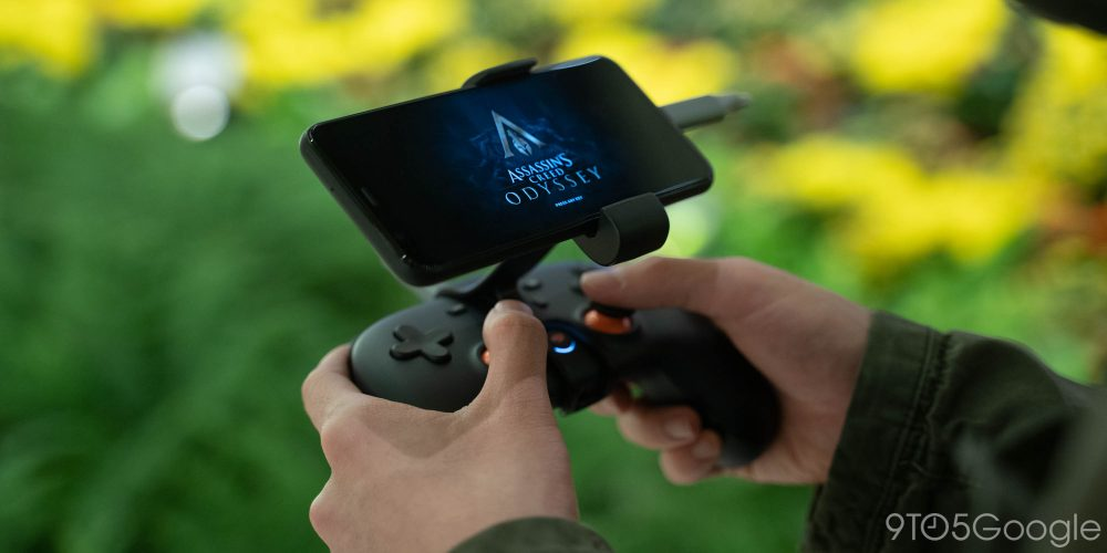 Stadia Android Pixel Assassin's Creed