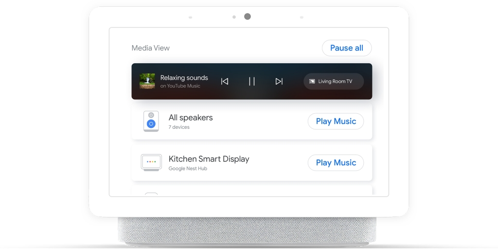 Google rolls out redesigned 'Media View' dashboard for Nest Hubs - 9to5Google