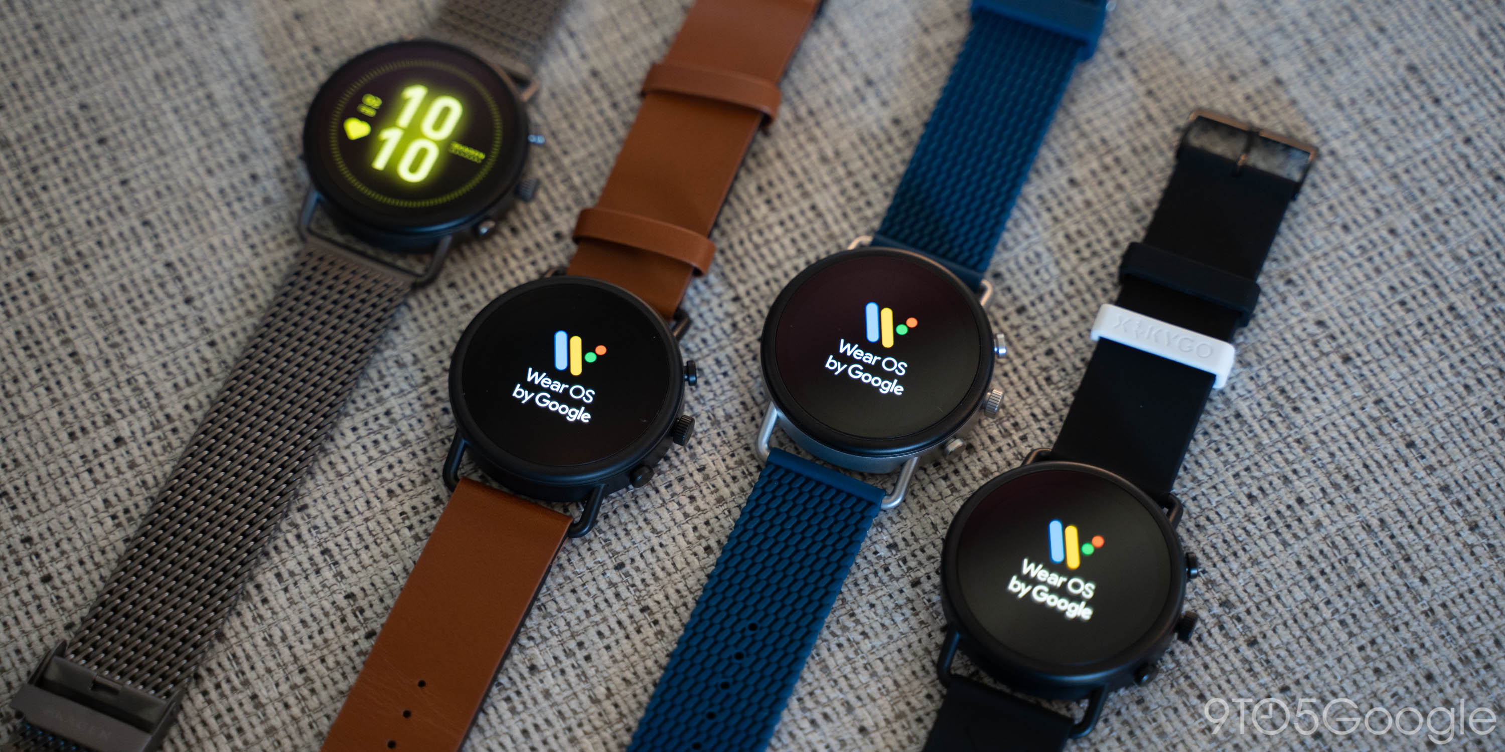 skagen falster 3 wear os smartwatch android