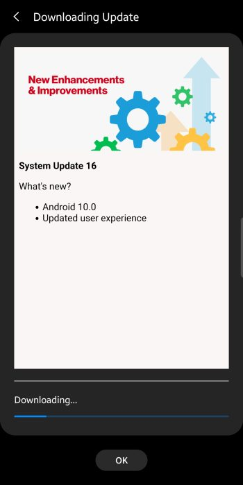 Android 10 Verizon Note 9
