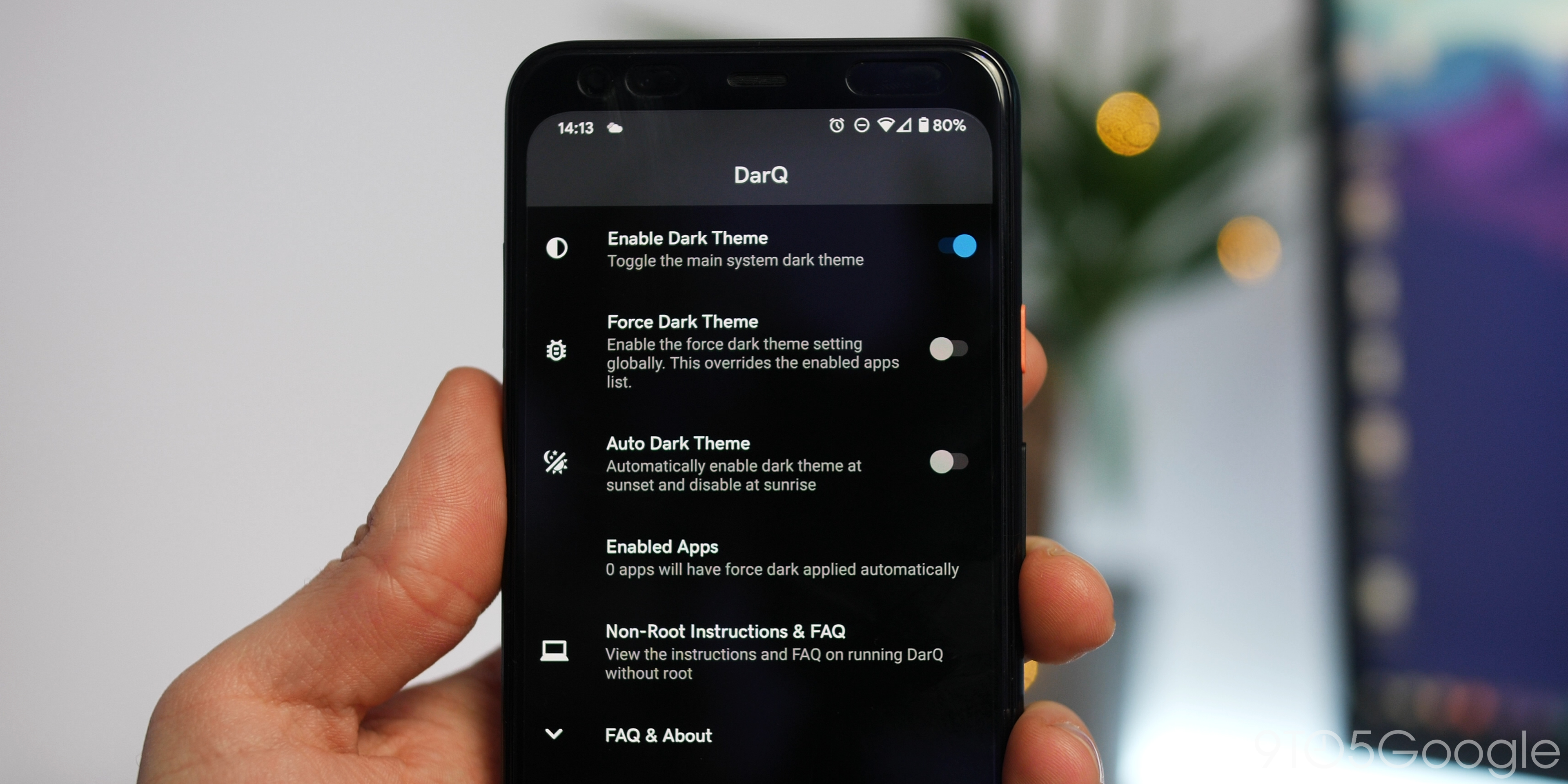 How to force dark mode for specific Android apps [Video] - 9to5Google