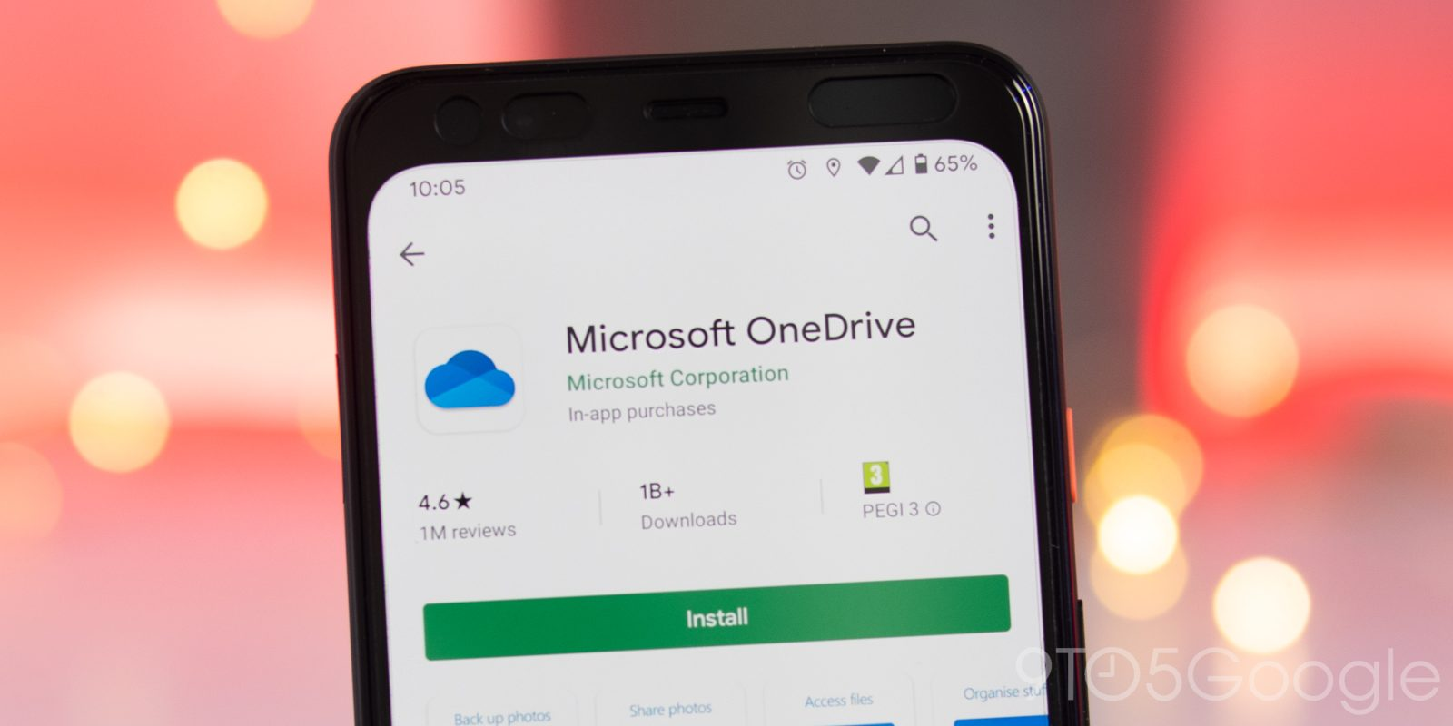 OneDrive for Android gains dark theme in latest beta update - 9to5Google