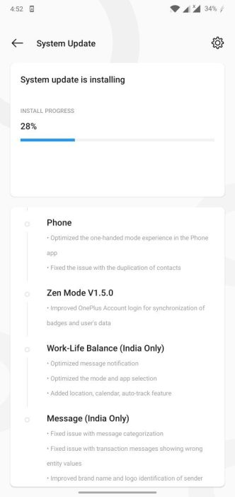 OxygenOS Open Beta 5