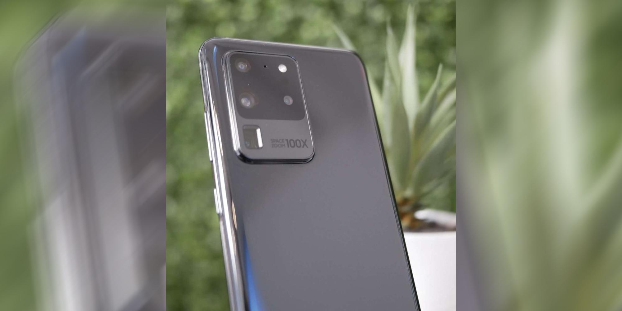Samsung Galaxy S20 Ultra hands-on leak