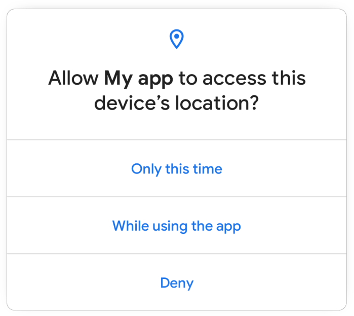 Neue Sicherheits- und Datenschutzfunktionen von Android 11: Einmalige Berechtigungen, Speicher mit Gültigkeitsbereich, mehr