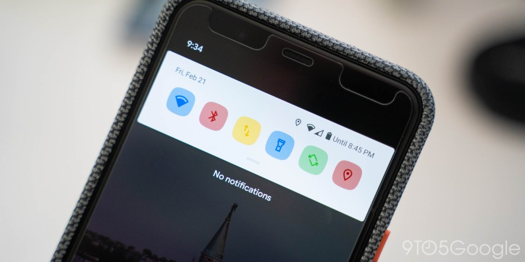 Android 11 DP1: How to recolor your Quick Settings tiles - 9to5Google