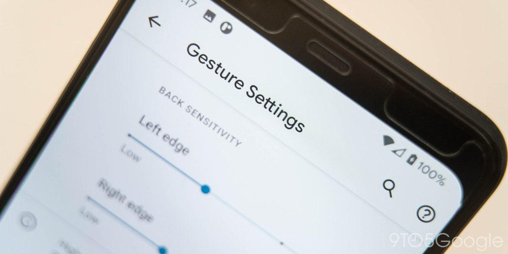 android 11 gesture settings