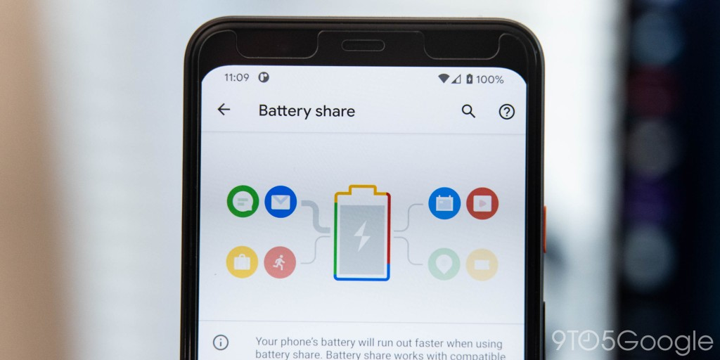 'Battery Share' hints Pixel 5 reverse wireless charging - 9to5Google
