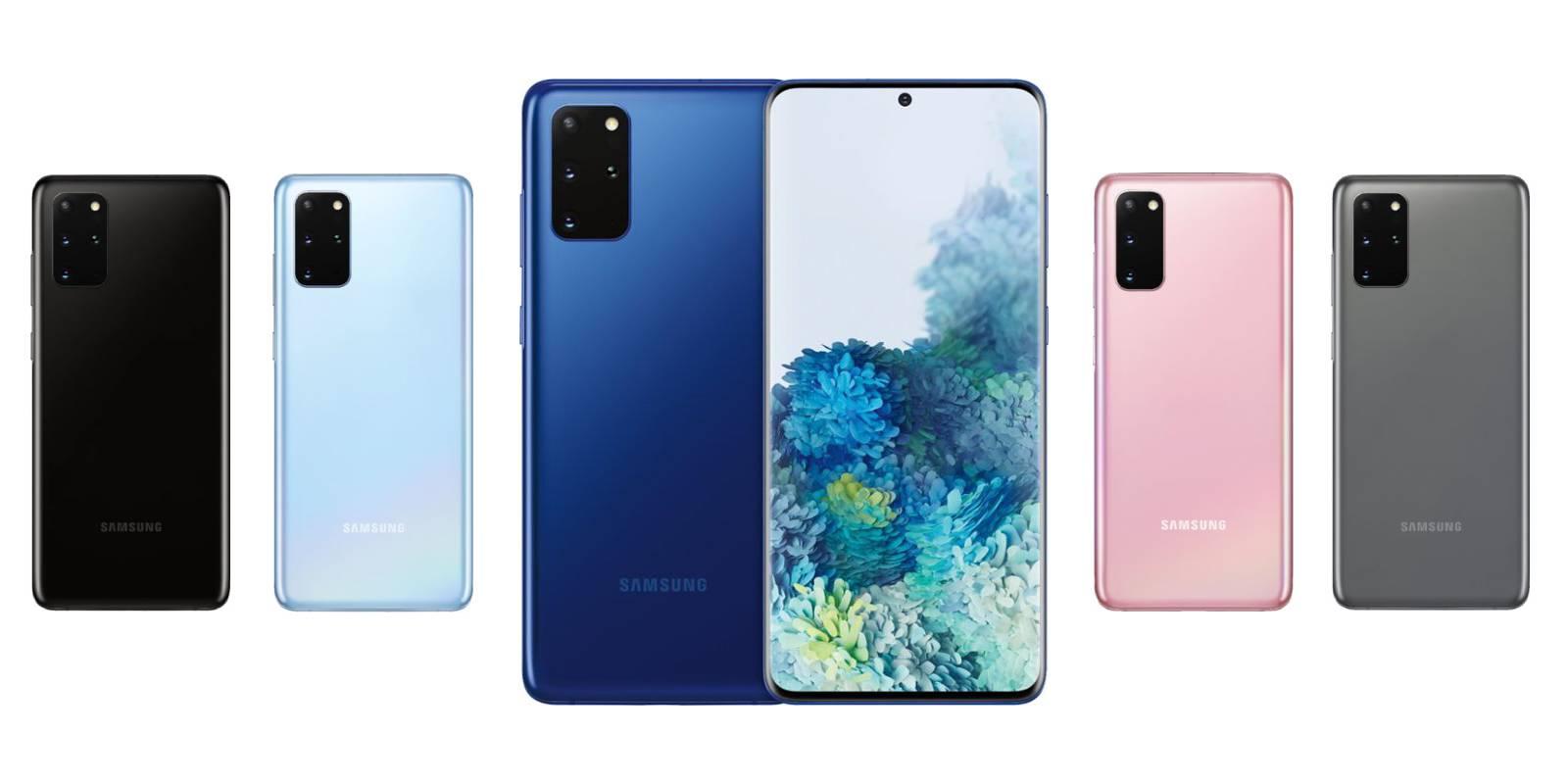 Bộ ba sắc màu cổ điển của Samsung S20 Ultra