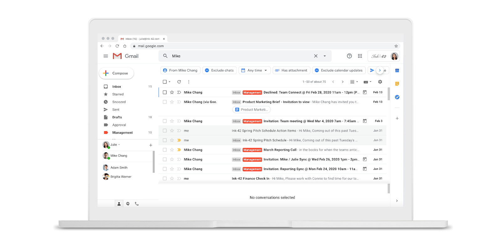 Gmail on the web adding 'search chips' to help filter results - 9to5Google