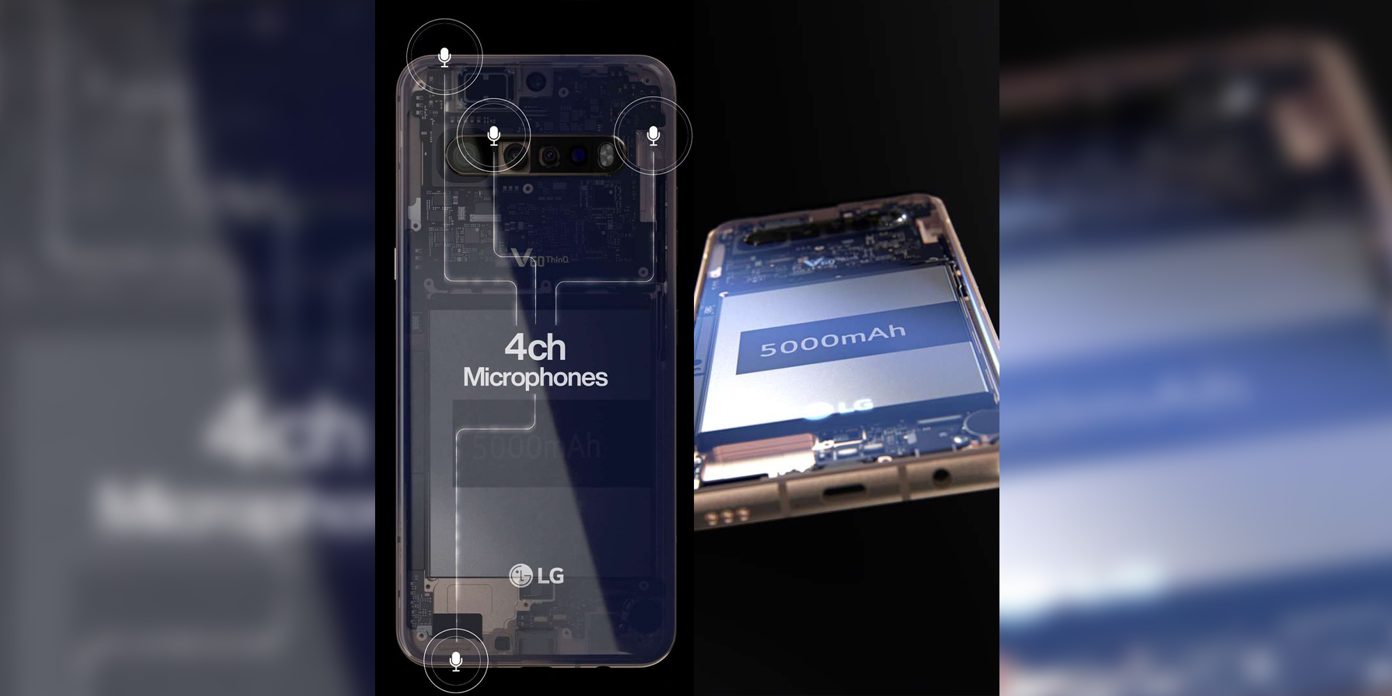 [Update: More renders] Leaked LG V60 ThinQ press renders show 5,000mAh battery, headphone jack, more - 9to5Google