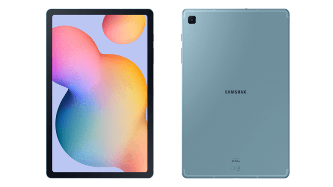 Upcoming Samsung Galaxy Tab S6 Lite renders and specs leak showcasing the upcoming Android tablet