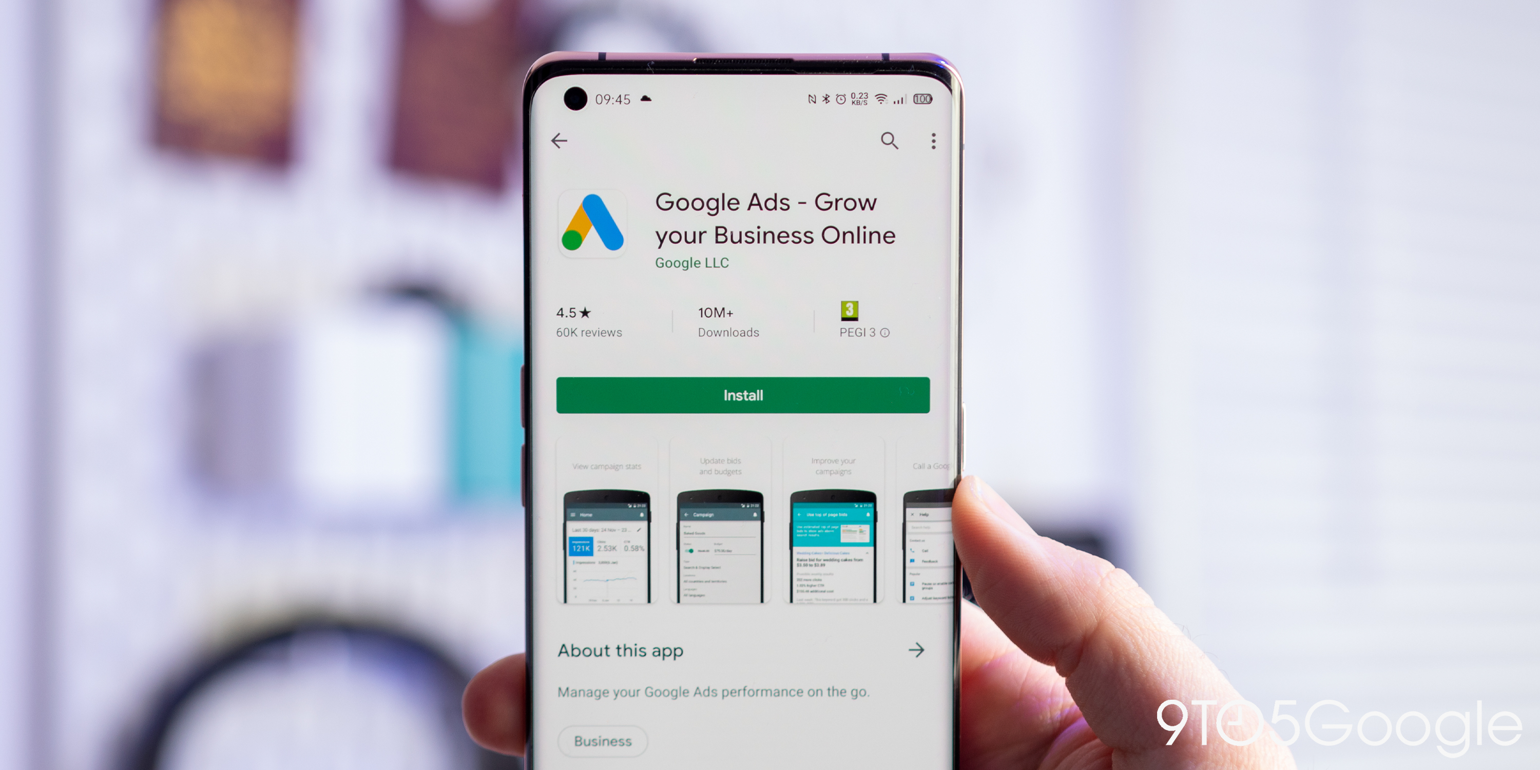 Google Ads app gains a dedicated dark mode on Android - 9to5Google