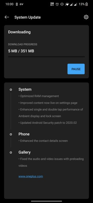 OxygenOS Open Beta 10
