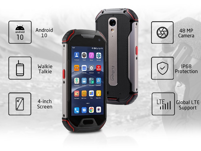 Atom Xl Is A Rugged Android 10 Phone W