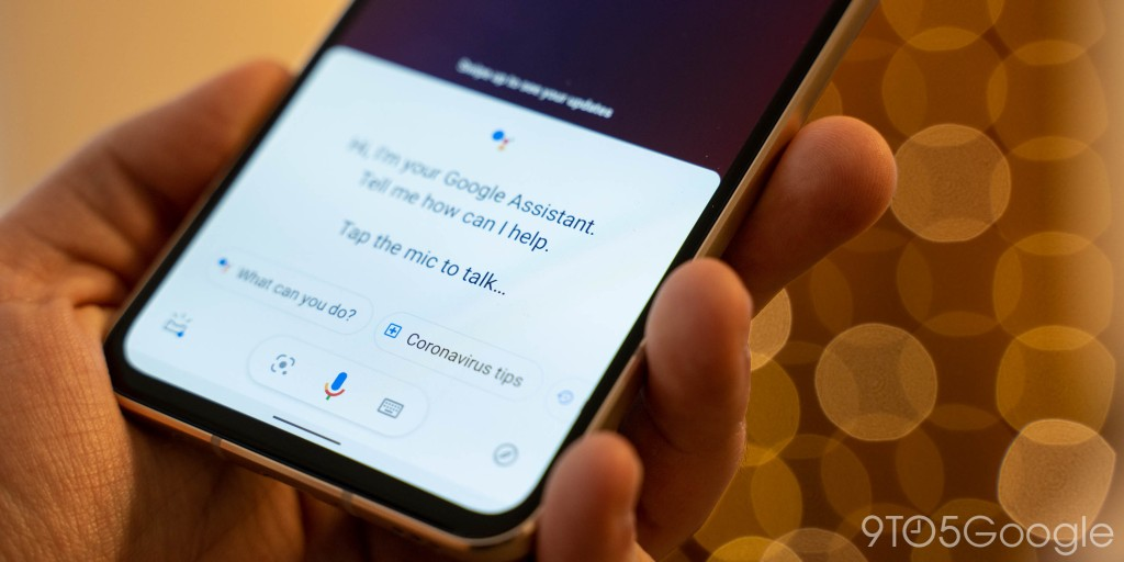 Google Assistant adds useful 'coronavirus tips' as Discover adds news shortcut - 9to5Google