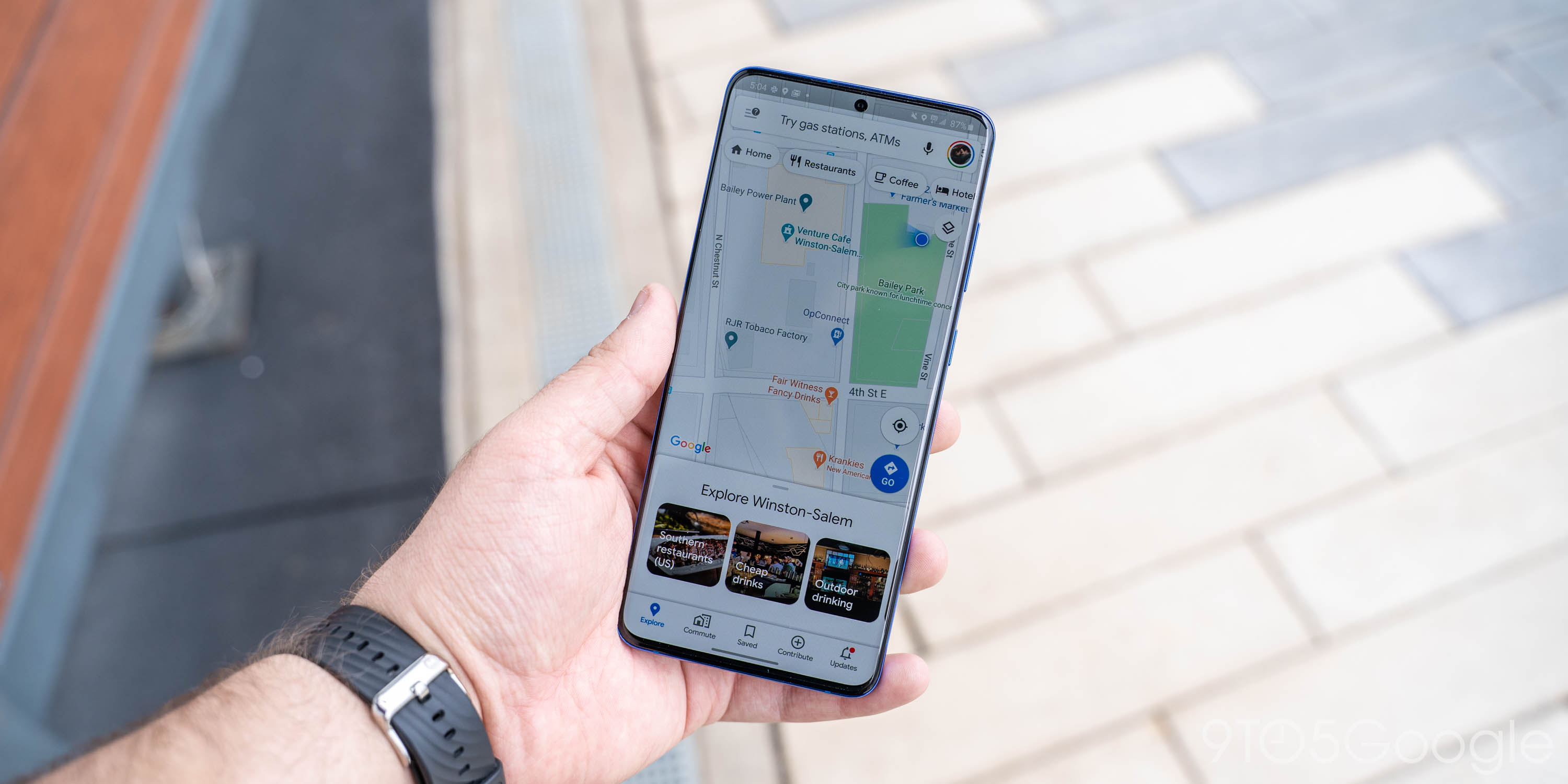 [Update: Rolling out] Google Maps making streets, nature much more detailed