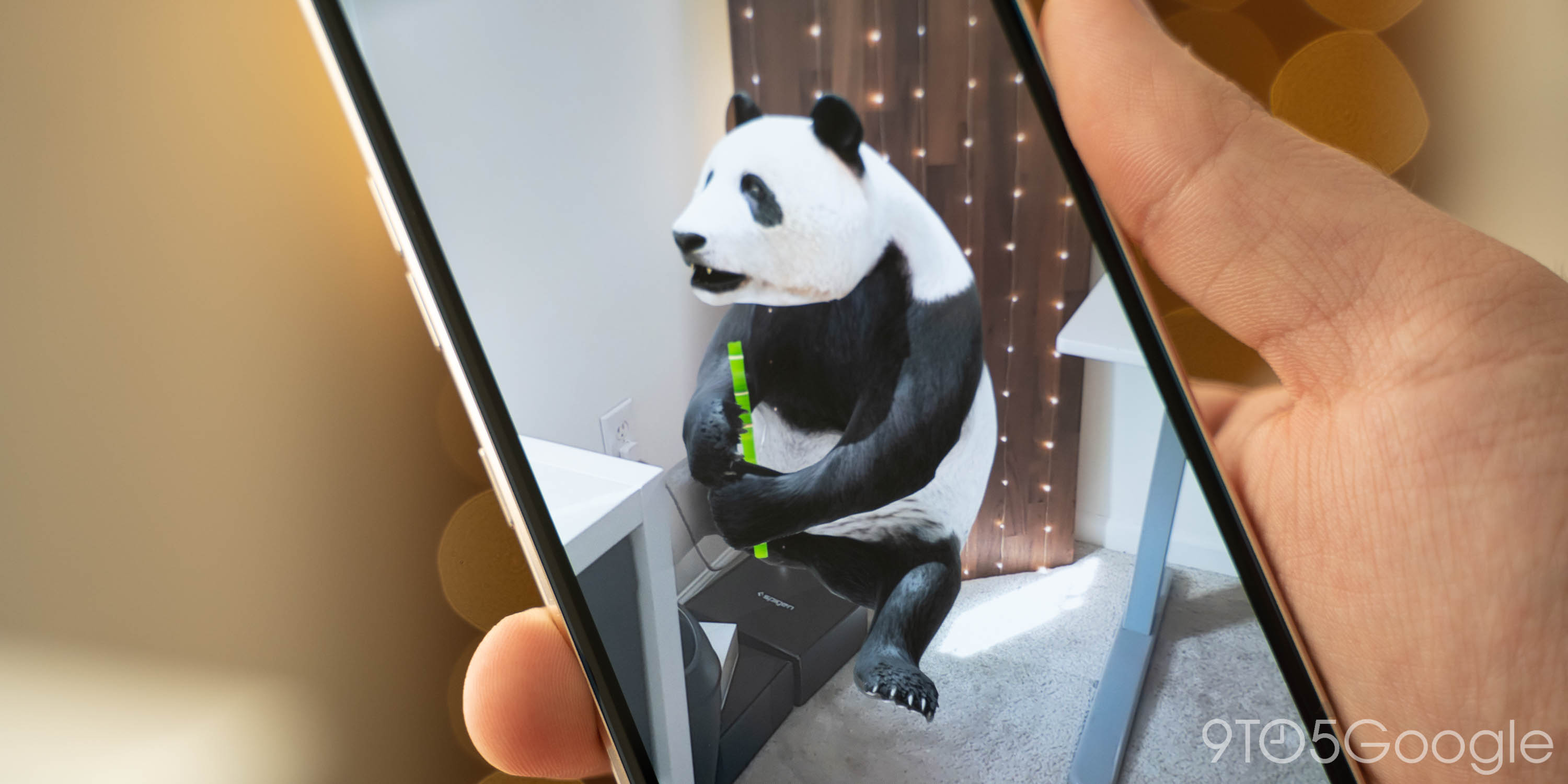 What Android phones support 'view in your space' for Google 3D animals