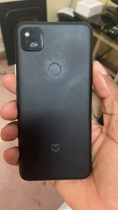 Pixel 4a back leak