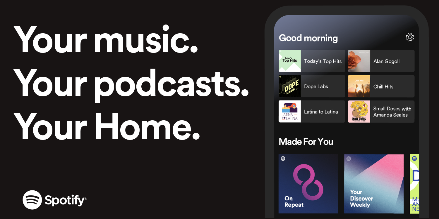 Spotify 'Home' redesign w/ personalized shortcuts - 9to5Google