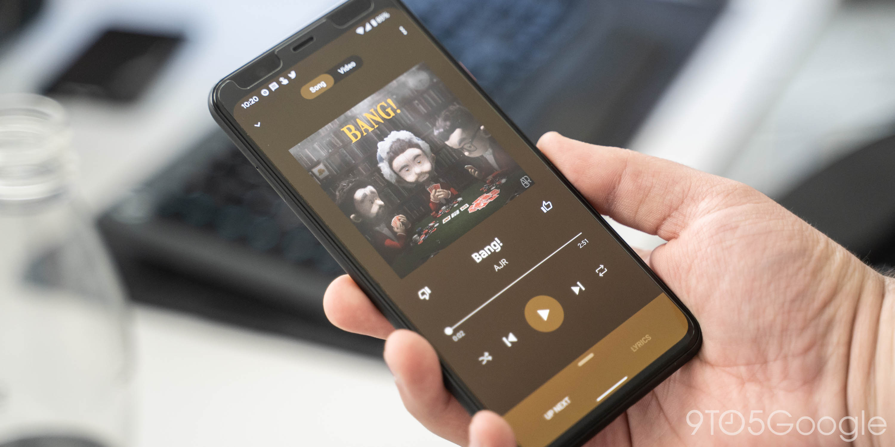Youtube Music Officially Revamps Now Playing Screen 9to5google