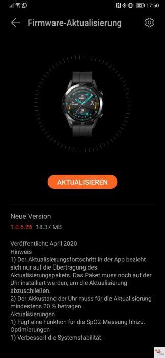 Huawei Watch GT2 update brings SpO2 blood oxygen measurement feature - 9to5Google