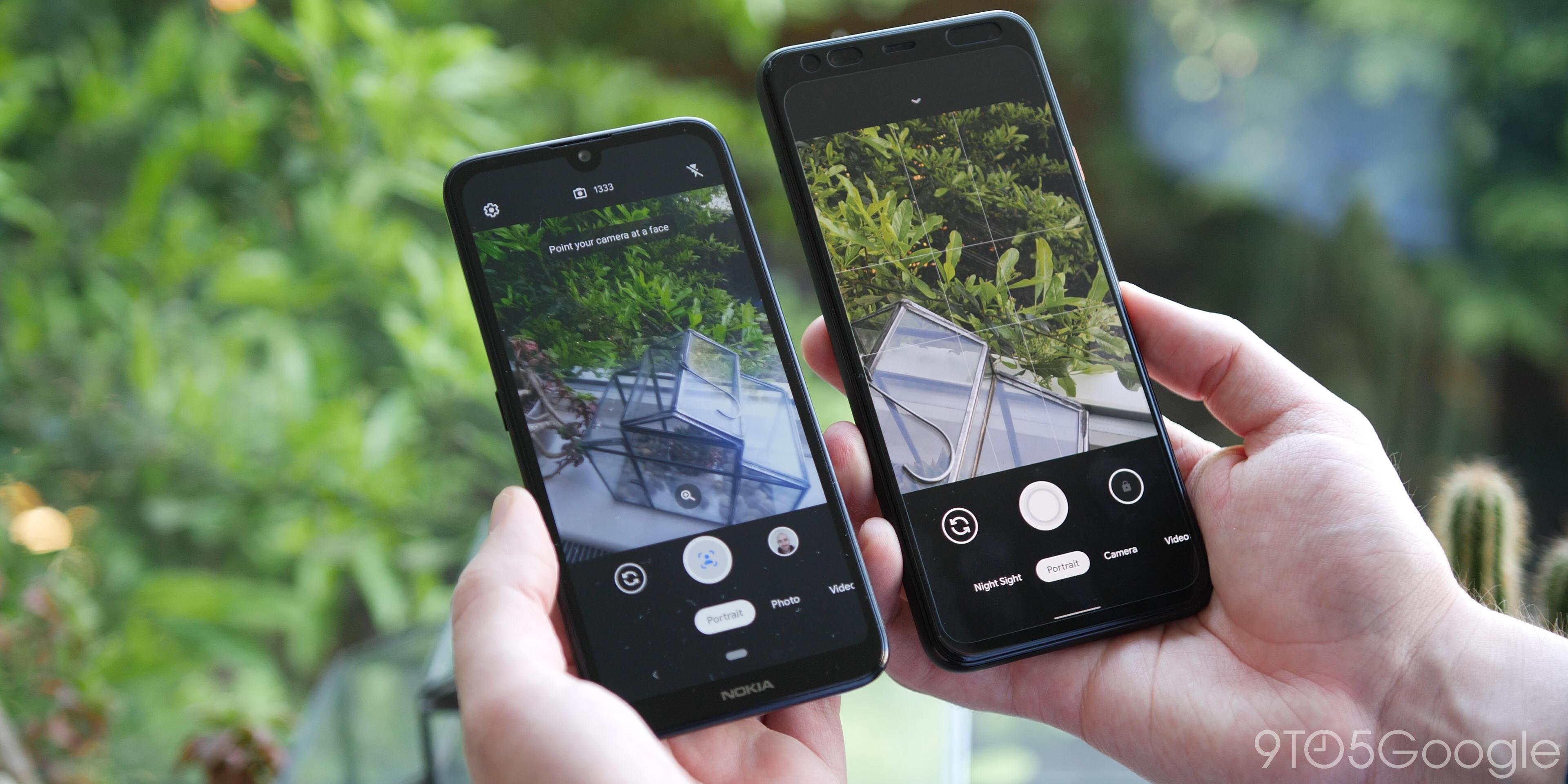 Google camera go vs Pixel 4