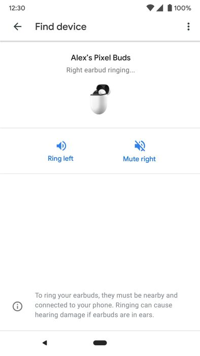 Google Pixel Buds app