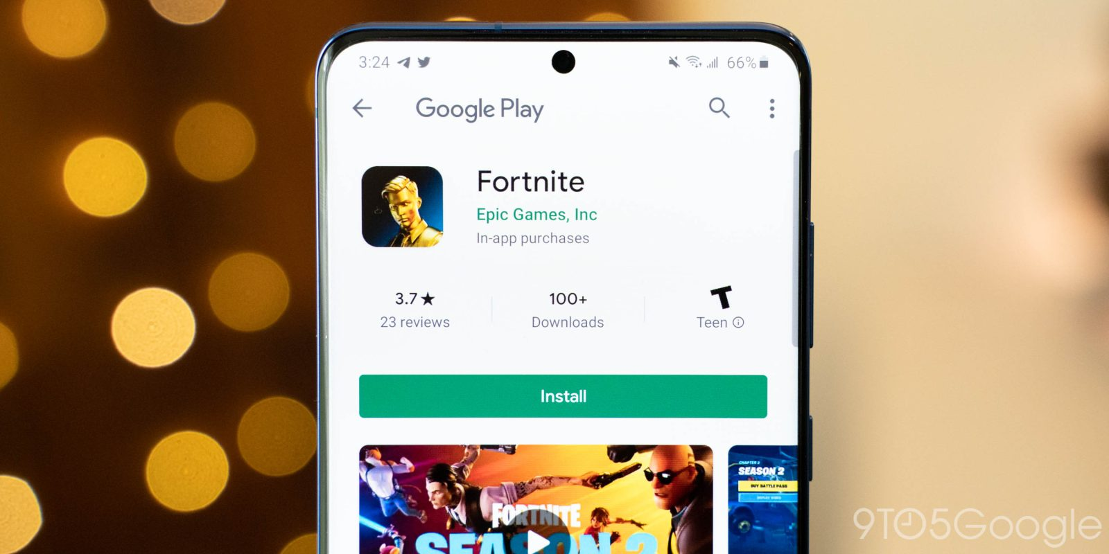 Fortnite arrives on the Google Play Store for Android users ...