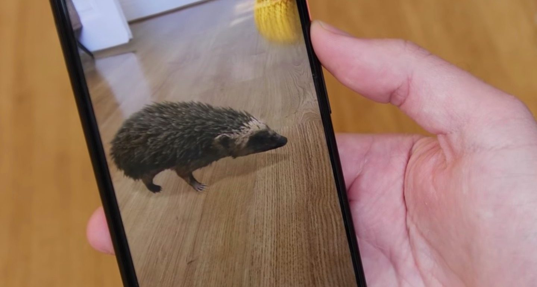 Hướng dẫn cách chụp hình thú 3D ngay trong nhà cùng Google 3D Android 5