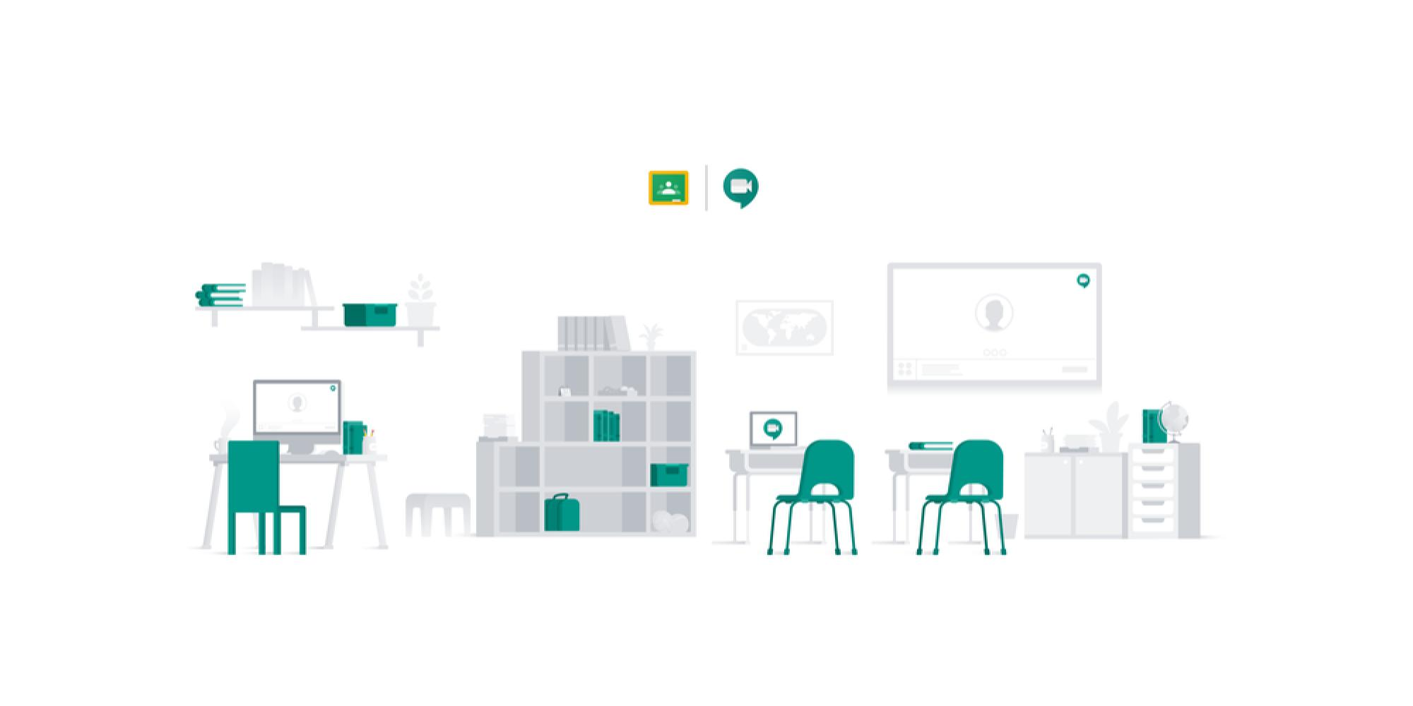 Google Classroom adds Meet integration as premium video features extended, usage soars - 9to5Google