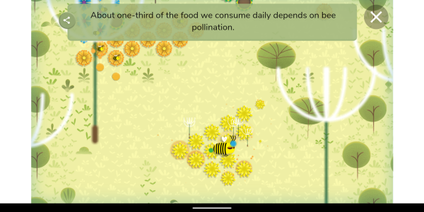 Google Doodle celebrates Earth Day with relaxing bee game ...