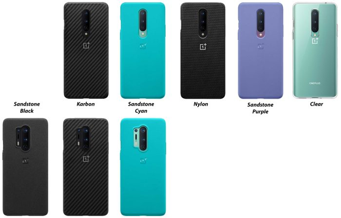 OnePlus 8 & 8 Pro cases
