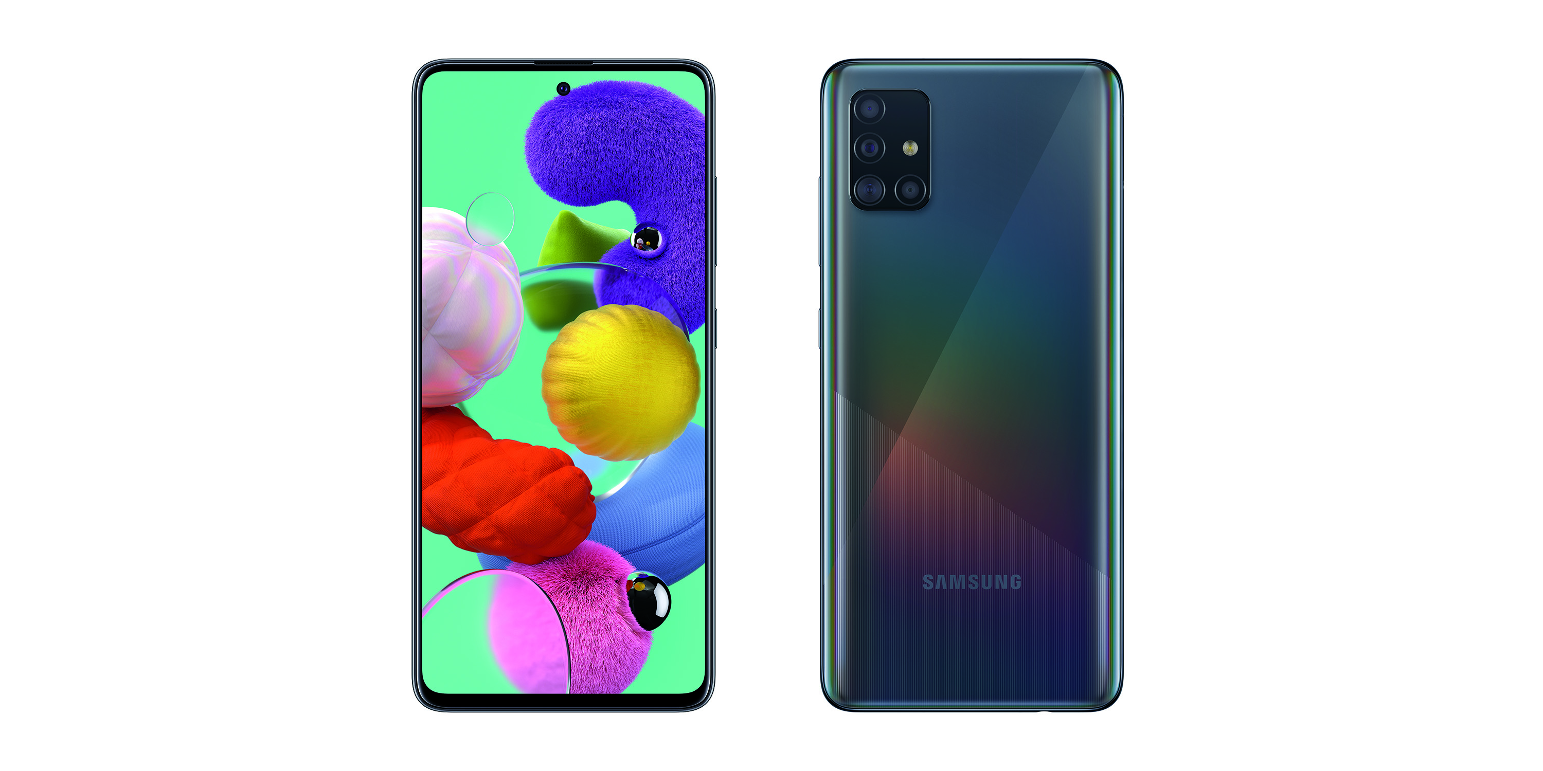 Samsung Galaxy A51 - affordable Android phones