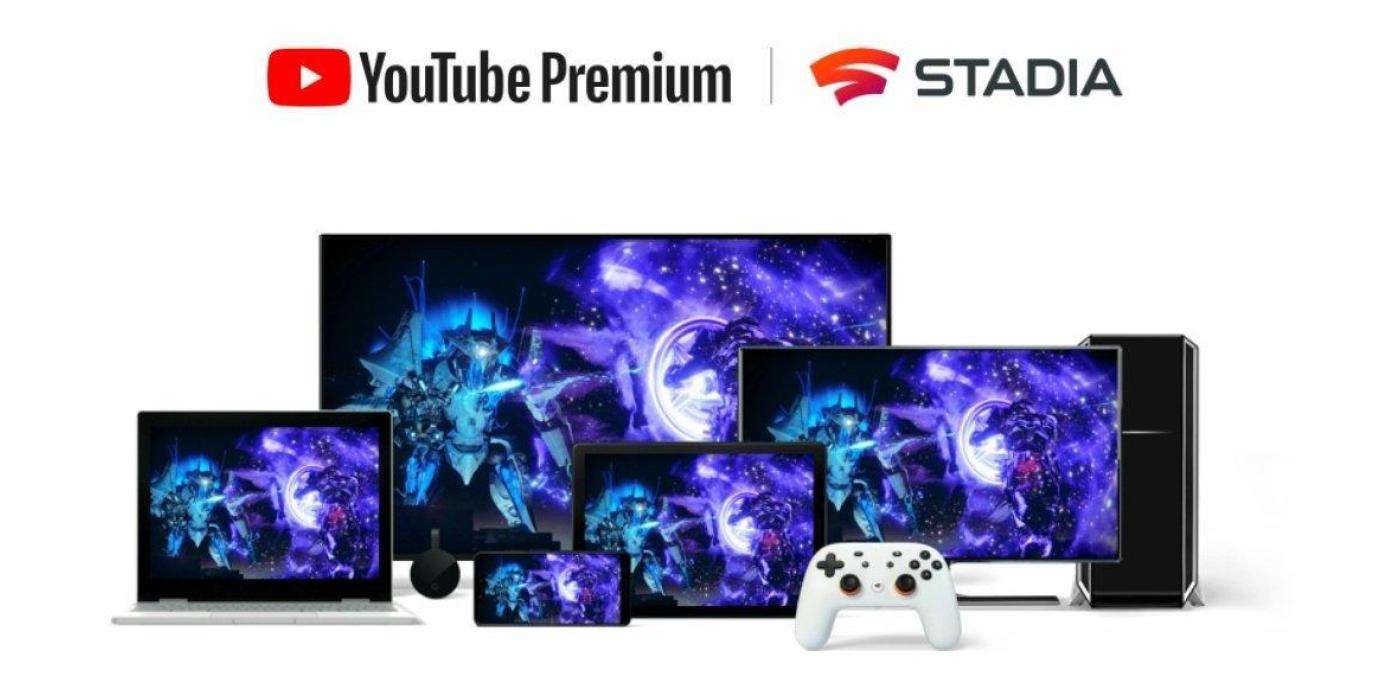 Some YouTube Premium members are getting free Stadia Pro trials