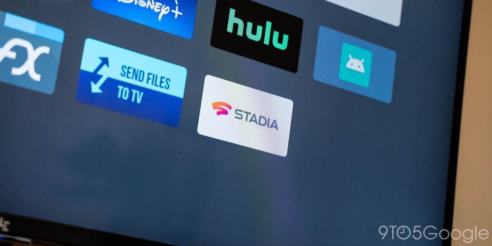 Google Stadia Android TV app