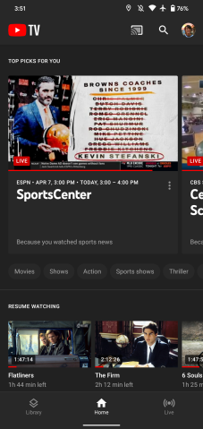 Youtube Tv For Android Adds Long Overdue Dark Mode 9to5google