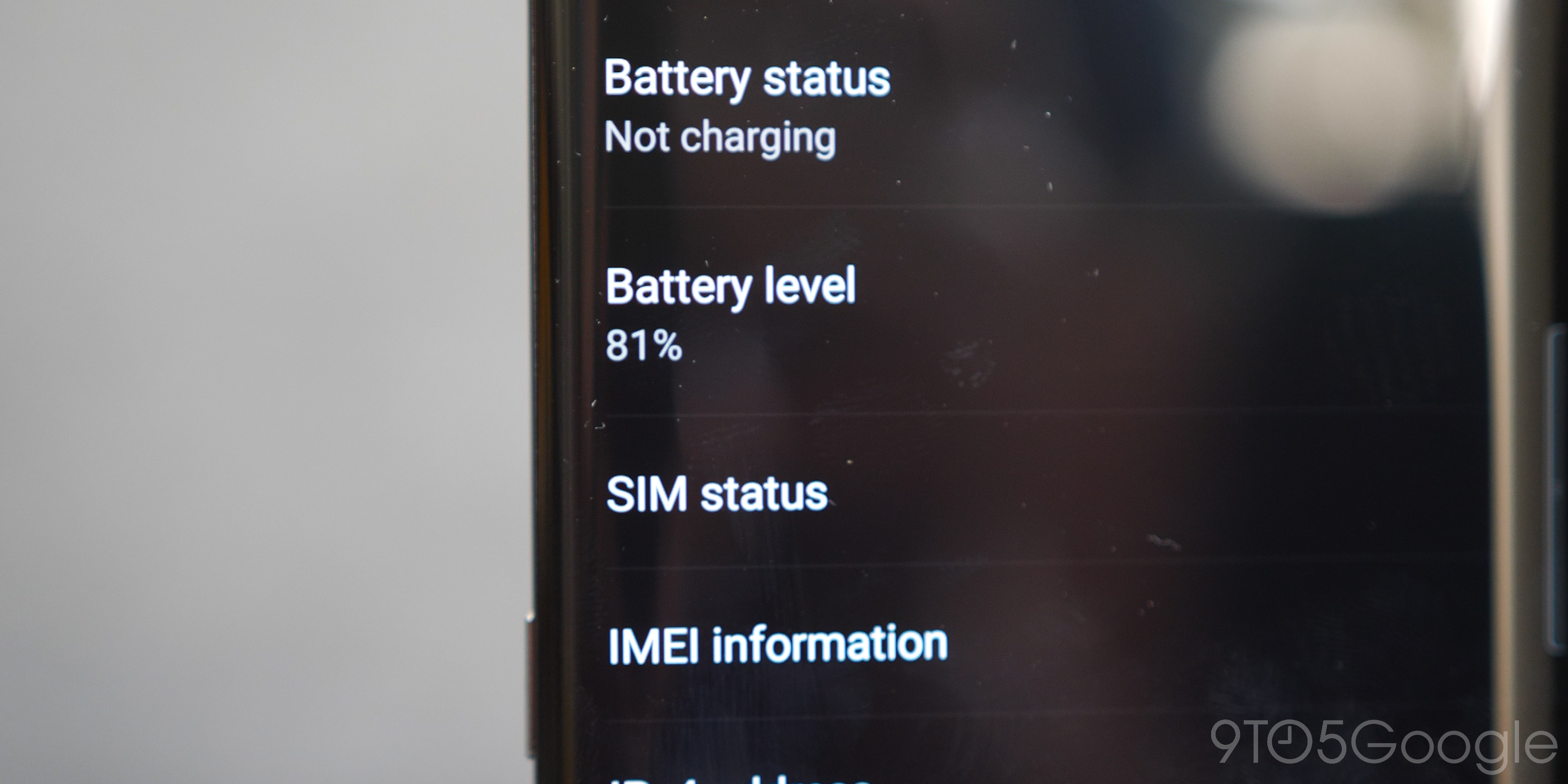 tcl 10 pro battery