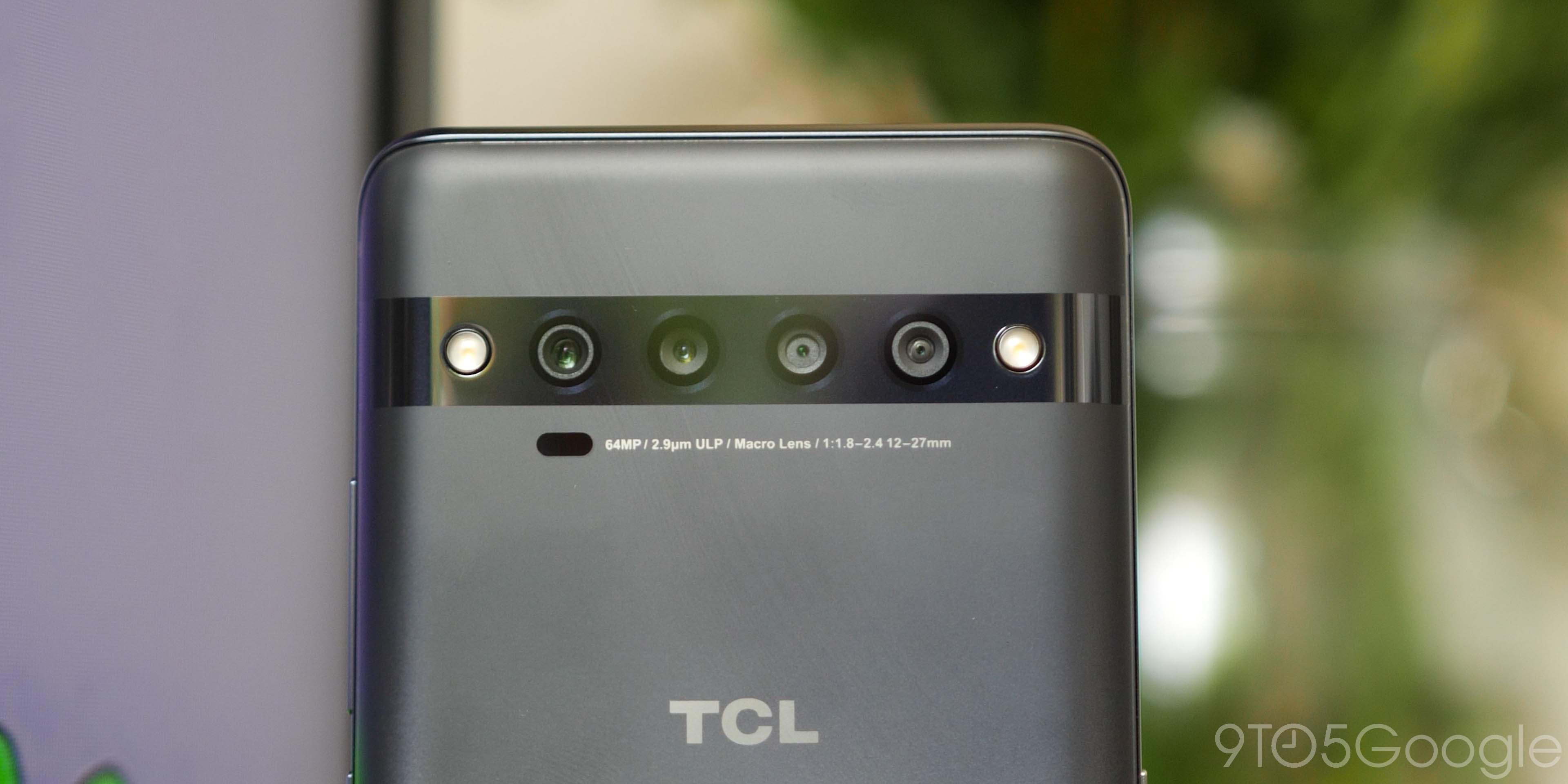 tcl 10 pro camera