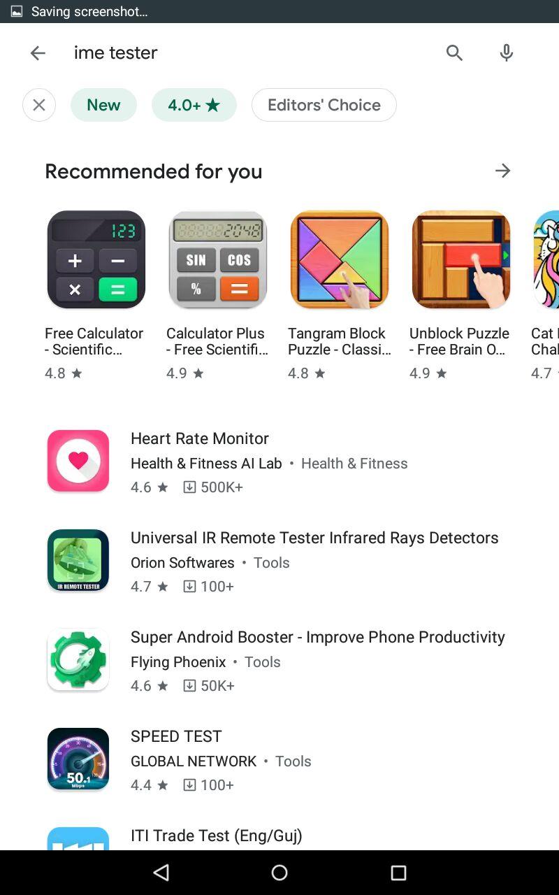 Новые фильтры для поиска приложений в Google Play Market