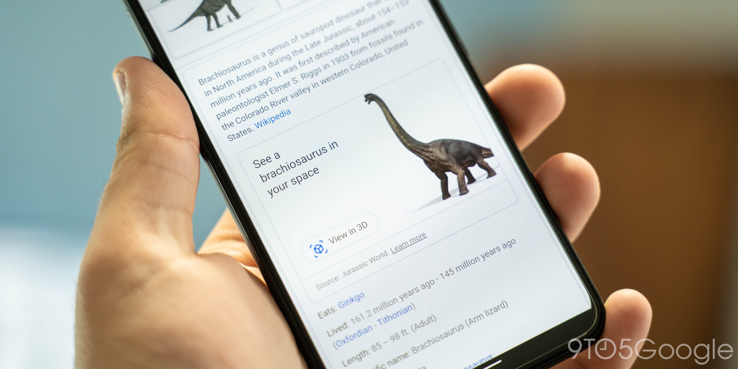 google search 3d dinosaurs