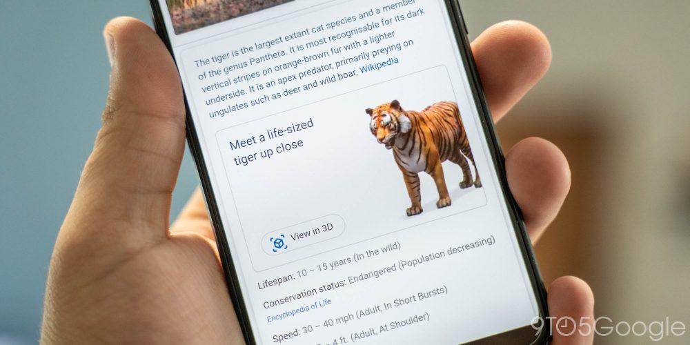 google search 3d animals tiger